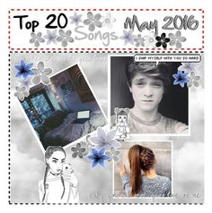 """My Top 20 Songs- May 2016 👽"" by feel-like-infinity ❤ liked on Polyvore featuring Hudson Jeans, Lauren Ralph Lauren, SHAN and aftop20"