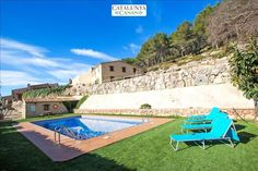 5 Bedroom Villa in Puigpelat to rent from £1026 pw, with a private pool. With Fireplace, TV and DVD.