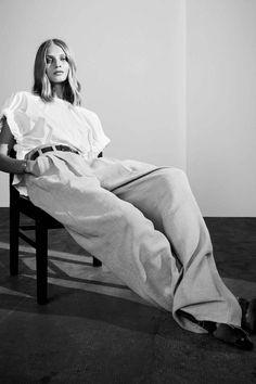 Anna Selezneva by Hasse Nielsen for Vogue Spain, February 2016