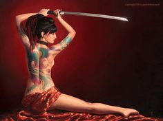 Spirit of the Samurai. by artsfeng.com | Sexy