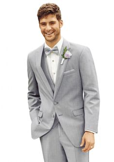 Tuxedo Rental in Fremont - Weddings and Dreams Bridal Tuxedo Styles, Tuxedo Rental, Tuxedo Suit, Tuxedo Wedding, Groom Attire, Mens Fashion Suits, Heather Grey, Gray Color, Suit Jacket
