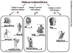 School Grades, Greek Gods, Baby Play, Ancient Greece, Greek Mythology, Language, Education, Learning, Baby Games