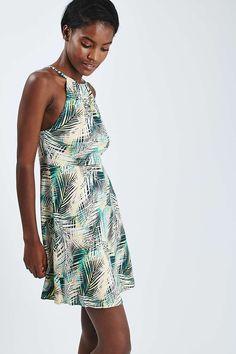 PETITE Tropical Print Sundress - Topshop
