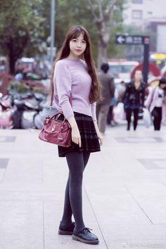 Thigh High Socks, Thigh Highs, Grey Tights, Tight Leggings, Thighs, Beautiful, Style, Fashion, Swag