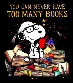 You can never have too many Books. Charlie Brown Quotes, Charlie Brown And Snoopy, Peanuts Cartoon, Peanuts Snoopy, Good Books, Books To Read, My Books, In China, The Words