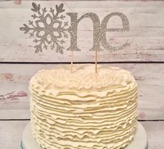 Hey, I found this really awesome Etsy listing at https://www.etsy.com/listing/259712392/one-cake-topper-winter-onederland-cake