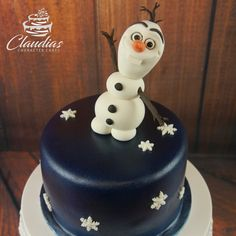 Schneemann Olaf Torte | Snowman Olaf Cake