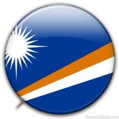 Marshall Islands flag badge