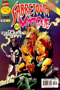 Sabretooth and Mystique # 3 by Ariel Olivetti & Pier Brito