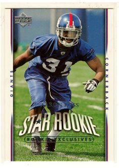 Sports Cards 2007 UD Star Rookie Aaron Ross