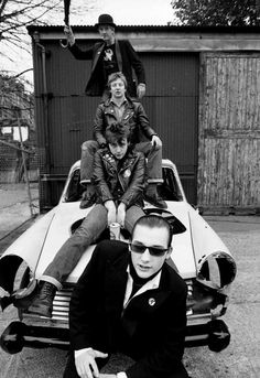 The Damned are key style icons and an admired band