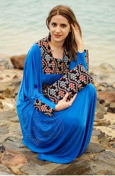 Ronza Price : 205.00 L.E Material : Georgette Turkish