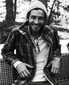 rugged man ~ genuine smile