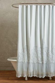 Sissonne Shower Curtain #anthrofave #anthropologie.com