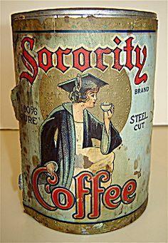 Sorority Coffee Tin
