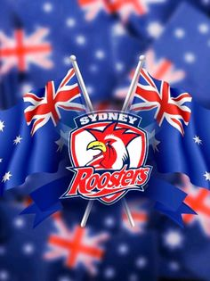 Sydney Roosters Rooster Logo, Rugby League, Sports Logos, Roosters, Cricket, Sydney, Nfl, Clay, Football