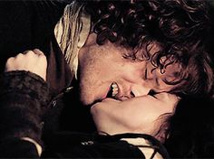 """I burned a bit myself, flushing strongly as I remembered the effect of Jamie's kisses on my own lips. Burning, indeed."""