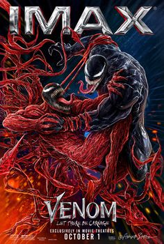 Click to View Extra Large Poster Image for Venom: Let There Be Carnage Tom Hardy, Carnage Movie, Mcu Marvel, Marvel Comics, Internet Movies, Keys Art, Movie Theater, Great Movies, Hd Movies