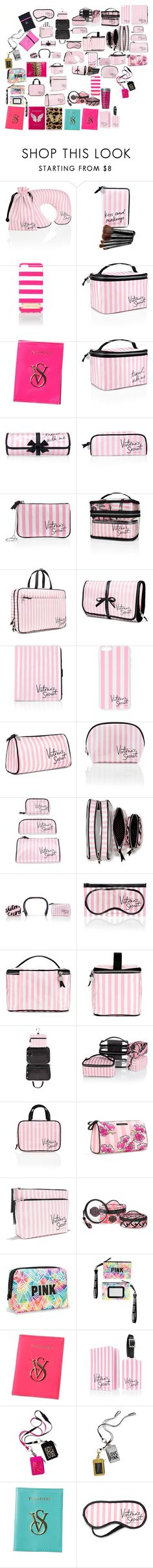 """""""VS PINK"""" by angelbrubisc ❤ liked on Polyvore featuring beauty, Victoria's Secret, Beauty Rush and Passport"""