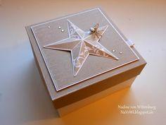 NaVoWi - Nadine von Wittenburg: Weihnachtsbox mit 3D Stern