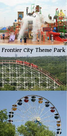 With roller coasters, high flying rides, a children's area and even a water park where you can cool off, Frontier City Theme Park has it all.