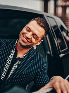 Avengers' Sebastian Stan on Bucky Barnes and the Future of Superheroes Gq Mens Style, Gq Style, Bucky Barnes, Sebastian Stan, Gq Magazine Covers, Tom Ford Boots, Kyle Kuzma, Chuck Bass, Gossip Girl Fashion