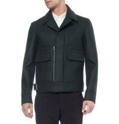 BalenciagaStructured Wool-Blend Jacket
