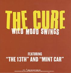 For Sale - The Cure Wild Mood Swings USA Promo  display - See this and 250,000 other rare & vintage vinyl records, singles, LPs & CDs at http://eil.com