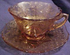 Depression Glass Fostoria American Pattern | Depression Era Elegant Glass Identification