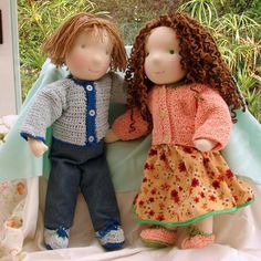 Bambole waldorf di stoffa - bonecas waldorf: sobre MIM - chi sono