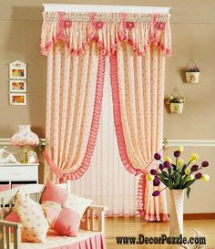 country french curtains and valances for girls bedroom 2017 The best designs of French country curtains for french doors and blinds, how to choose the best design of French curtains for living room hall, bedroom, kitchen French Country Curtains, French Curtains, French Country Living Room, Shabby Chic Curtains, Cheap Curtains, Rustic Curtains, Curtains With Blinds, Country French, Valances