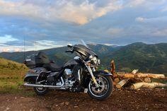 The farther you go on a motorcycle, the better it gets. Welcome to the top of the line bagger. | Harley-Davidson Ultra Limited