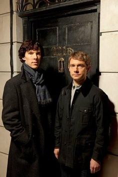 Sherlock - present) with Benedict Cumberbatch as Sherlock Holmes and Martin Freeman as Doctor John Watson. The best Sherlock television serie there is! Sherlock John, Sherlock Holmes Bbc, Sherlock Tv Series, Sherlock Poster, Sherlock Holmes Benedict Cumberbatch, Sherlock Season, Sherlock Cast, Jim Moriarty, Sherlock Quotes