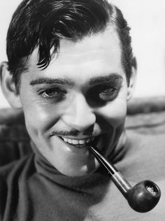 """williamclarkgable: """" Clark Gable photographed by Russell Ball, 1934. """""""