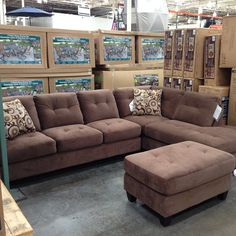 Modern Sofa Okay everyone my EXACT couch is currently at Costco again for Same color