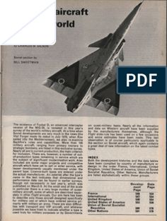 Military Aircraft of the World 1977 American War, Military Aircraft, Fighter Jets, Men, Guys