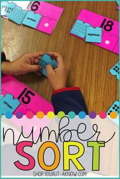 Not only are these simple tasks low prep, they are perfect for any special education classroom. With numbers to 20 and 10 sorting options for each number, the possibilities for this task are endless!