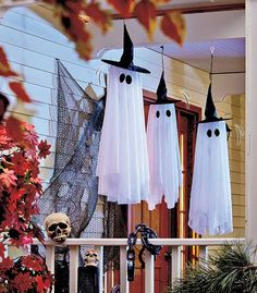Spinning & Howling Ghost Outdoor Decoration