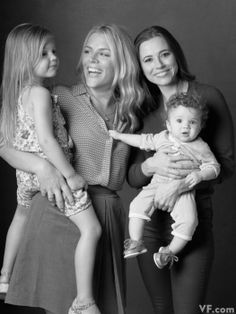 Kim (Busy Philipps) and Lindsay (Linda Cardellini) all grown up! F&G