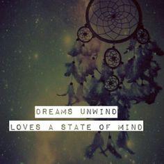 "Fleetwood Mac - ""Dreams unwind loves a state of mind."""