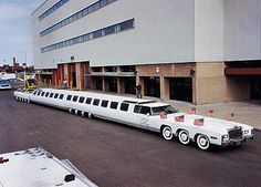 Jay Ohrberg - Worlds longest limo
