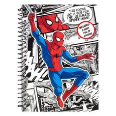 This handy spiderman soft cover notebook is great for use at school or at home and is ideal for jotting down those important notes. Whether you are planning to design your next to do list at work this notebook comes with 80 rules lines pafes to keep yo Spiderman, A5 Notebook, Superhero, Cover, Fictional Characters, Art, Spider Man, Art Background, Kunst