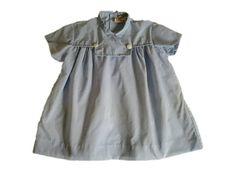 blouse  bébé vintage   années  60 , 1 an a 18 mois