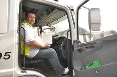 A happy customer who has passed their LGV/HGV driving test with JLD driver training limited.