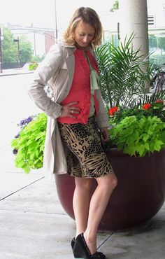 Leopard prints and sorbet colours post