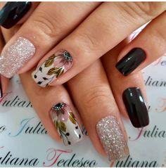 Cute Acrylic Nails, Gel Nails, Manicure, Nail Polish, Creative Nail Designs, Creative Nails, Nail Art Designs, Geometric Nail Art, Flower Nails