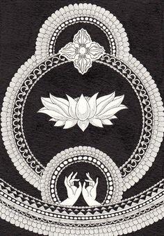 Expand into the Cosmos:: #lotus #mudra #yoga #love