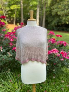 Early Light: a poncho to wear as a third layer Knitting Designs, Knitting Patterns, Purl Soho, All Design, Shawls, Quilling, Third, Layers, Wool
