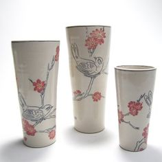 Participants will learn a large range of techniques for decorating on bisqueware and greenware, including mishima, sgraffito, shellac resist, and general use of slips and engobes