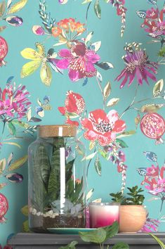 #interiordesign#wallpaper #turquoisewallpaper Turquoise Wallpaper, Turquoise Walls, Turquoise Pattern, Wallpaper Samples, Fabric Wallpaper, Pattern Wallpaper, Aqua Background, Bathroom Wallpaper, Blue Nails